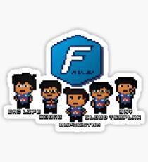 Pixel Azubu Frost Sticker