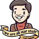 Carl Sagan by cronobreaker
