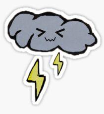 Thunder cloud Sticker