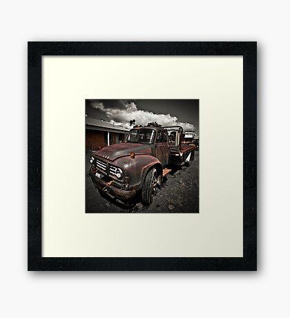Bedford Truck Framed Print