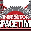 Inspector Spacetime Blorgon Edition Sticker by rexraygun