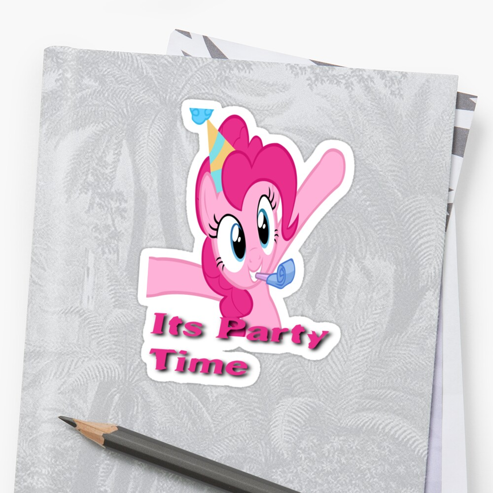 Pinkie Pie Party Time by eeveemastermind
