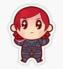 Commander FemShep Sticker