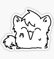 Hi I'm Kitty Mroo Sticker