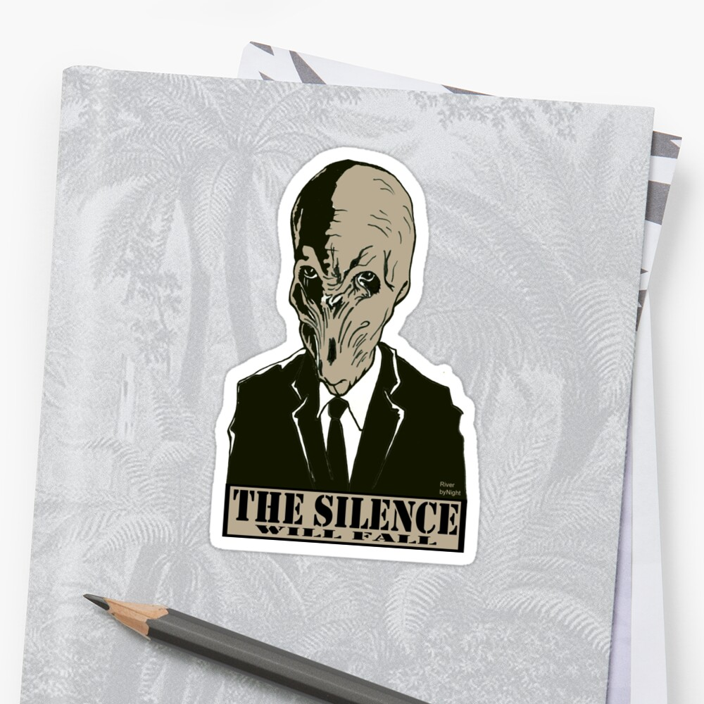 The Silence - Dr. Who by RiverbyNight