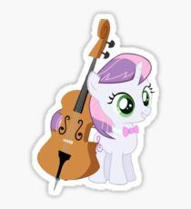 Sweetiebell Being Octavia  Sticker