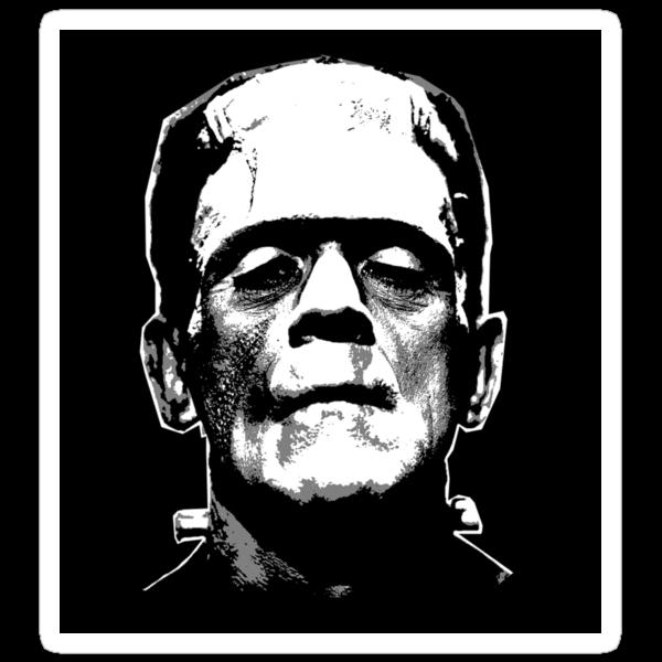 Frankenstein Sticker by eltrk