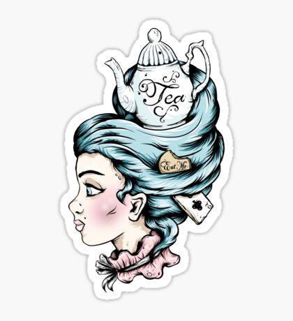 Teapot Lady Sticker
