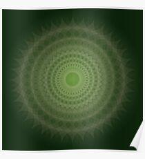 Jade Blossom Poster