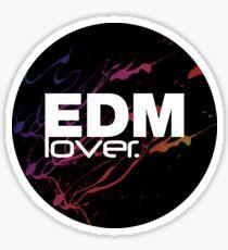 EDM (Electronic Dance Music) Lover. Sticker