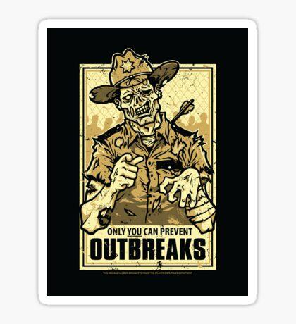 Outbreak Prevention - STICKER Sticker