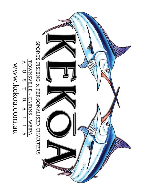 Boat stickers kekoa sports fishing stickers by for Fishing stickers for boats