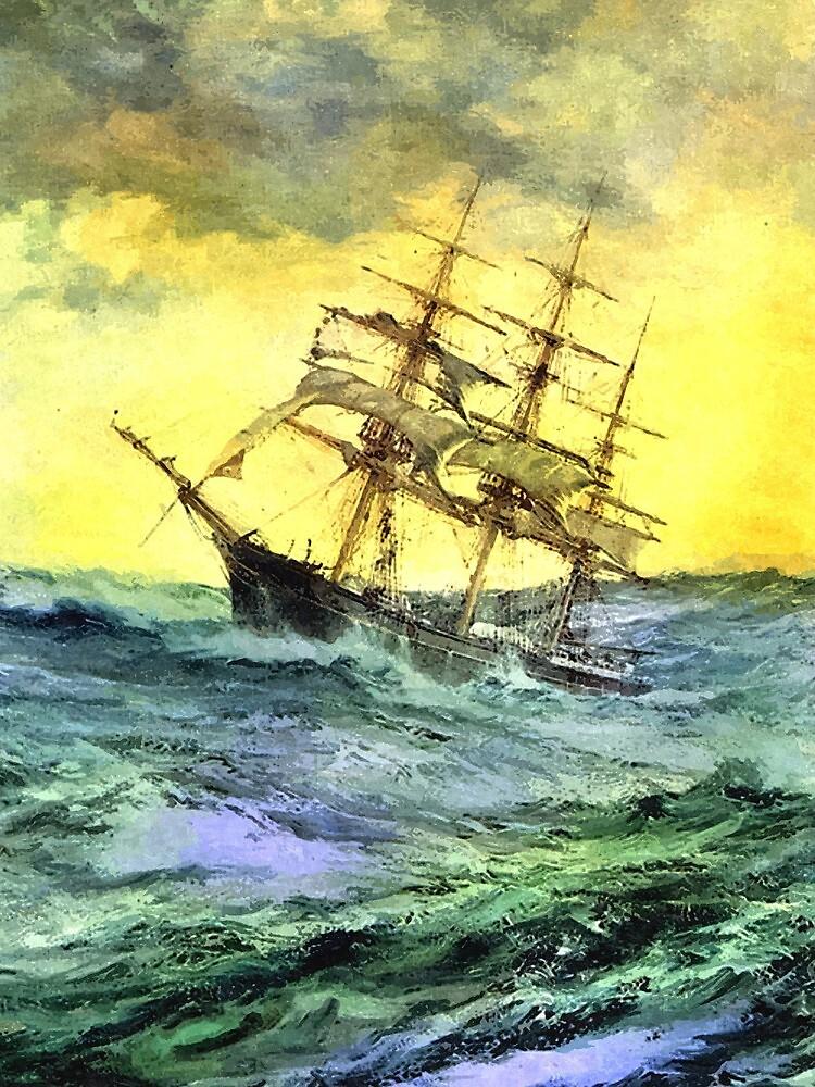 Sea voyage by markmonty