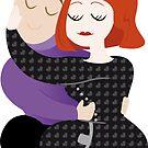 Sleepover hug by Varans