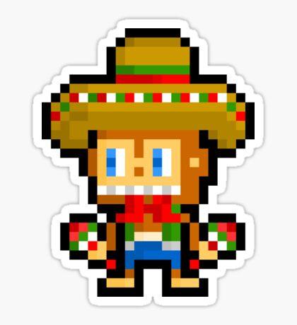 Pixel Samba - Samba De Amigo Sticker