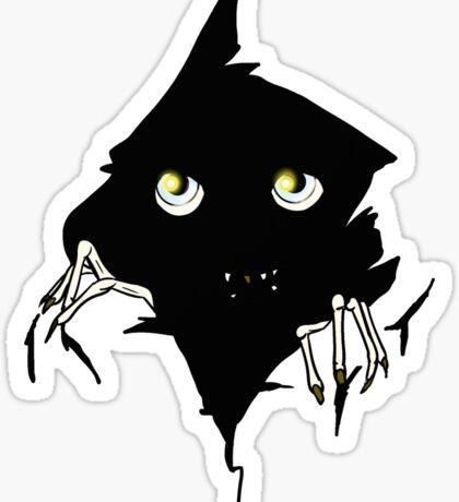 Creature in the Dark Sticker