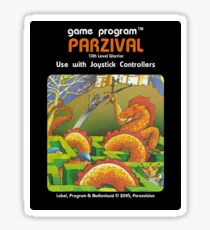 Parzival's Contact Card sticker Sticker