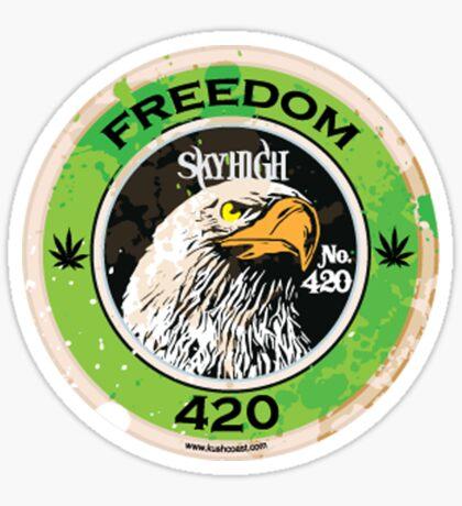 Freedom 420 Sticker