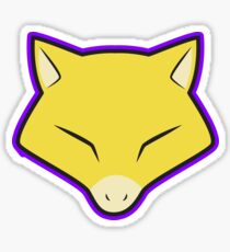 ABRA Pokemon Minimal Design First Generation Sticker Shirt Sticker