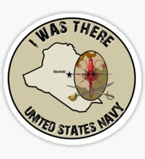I Was There - Iraq SandSquid Sticker