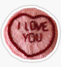 Sweet Love Heart - I Love You Sticker