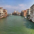Venice seen from Academia by John Lines