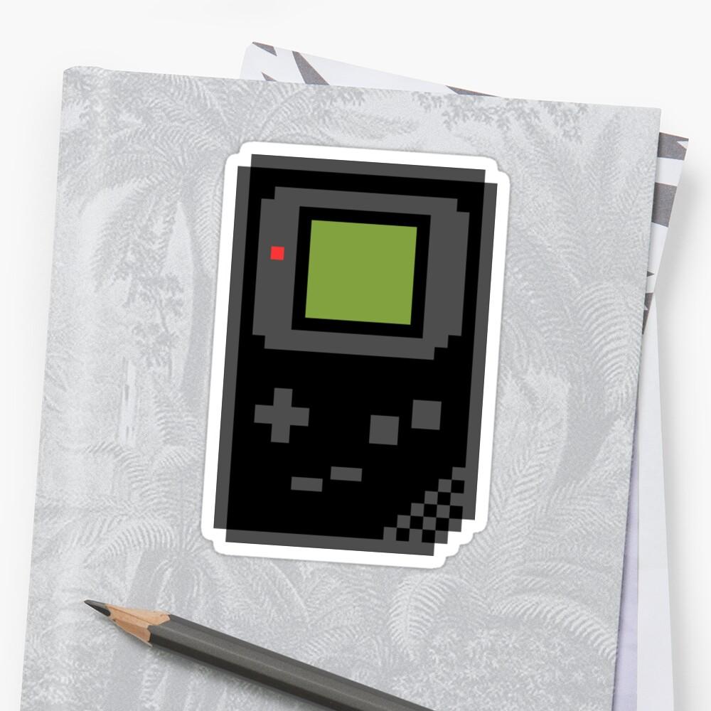 8 bit Gameboy Classic Black by PlatinumBastard