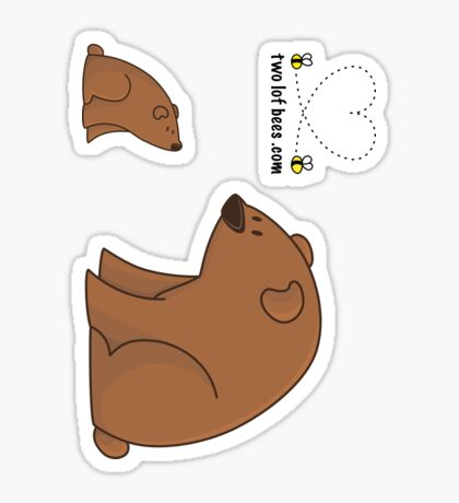Big Bear and Little Bear (stickers) Sticker