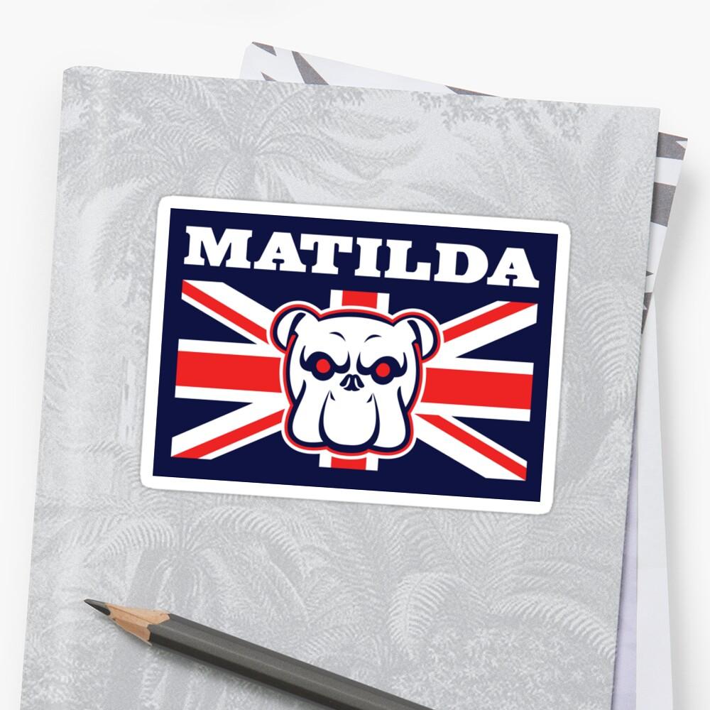 Matilda (Sticker) by thom2maro