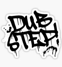 Dubstep Graffiti Sticker