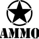 AMMO with Army Invasion Star by Tony  Bazidlo