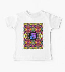 Camiseta para bebés Incidente de queso de cadena - Patrón de Trippy 5