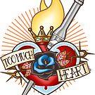 Sacred Heart Valentine by J Edwards