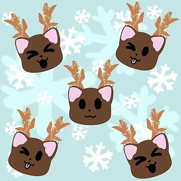 Reindeer Kittens by NekoBros