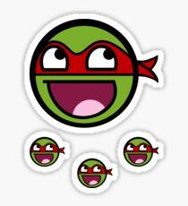 Cowabunga Buddy Squad: Raphael - Sticker Sticker