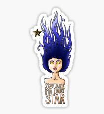 Lucky Star Sticker