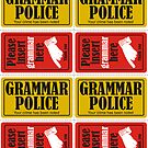 Grammar Police by QueenHare