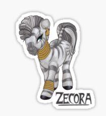 Retro Zecora Sticker