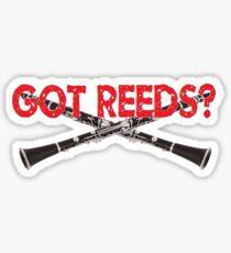 Got Reeds Sticker