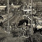 Major Rail Works Vulcan Village by Stan Owen