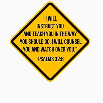 Psalms 32:8 by vSamy