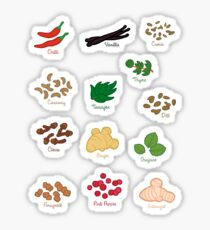 Spice Labels 3 Sticker