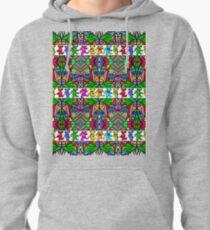 Grateful Dead Bears Trippy Pattern Pullover Hoodie