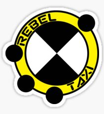 RebelTaxi Logo Sticker Sticker