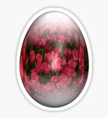 easter egg tulips Sticker