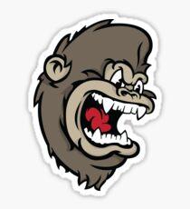 Monkeying Around. Sticker