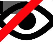 Google Glass Ban Sign Sticker