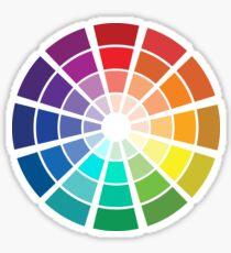 Color Wheel Sticker
