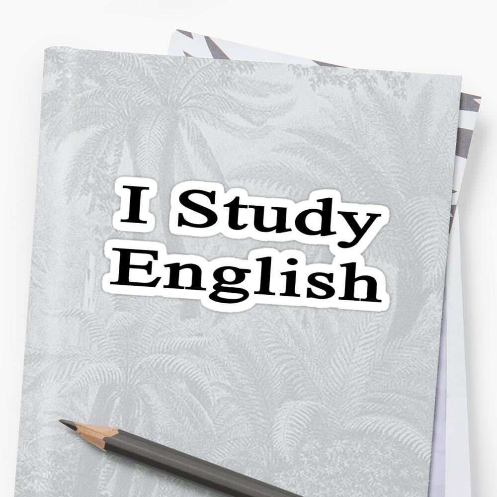 I Study English by supernova23