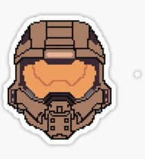 Halo 4 Pixl Chief  Sticker